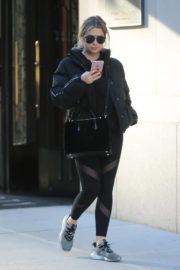 Ashley Benson Stills Out and About in New York Images