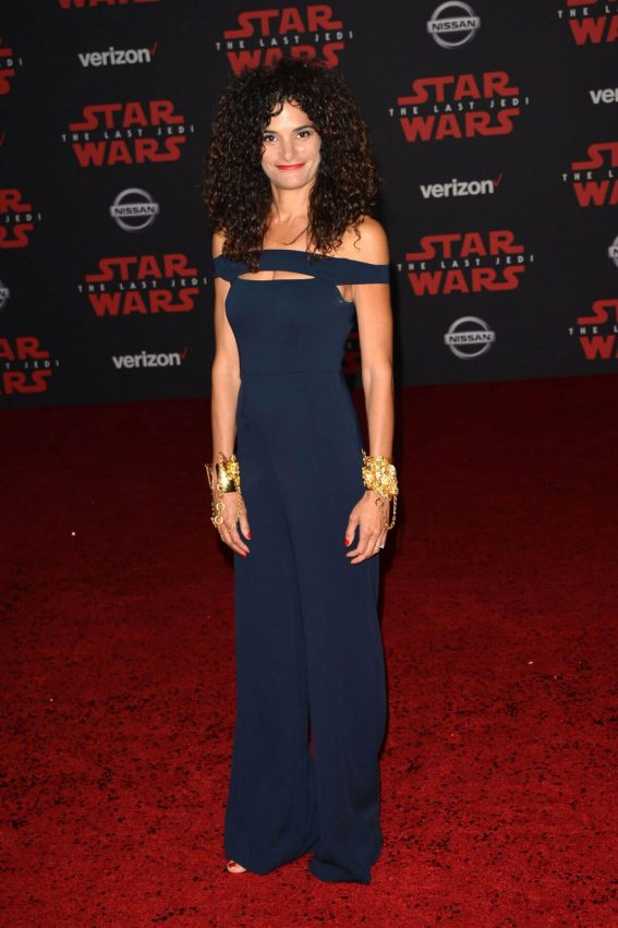 Ashley Dyke Stills at Star Wars: The Last Jedi Premiere in Los Angeles 2017/12/09