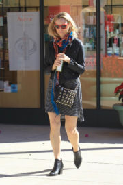 Ashley Hinshaw Stills Out and About in Beverly Hills 2017/12/15