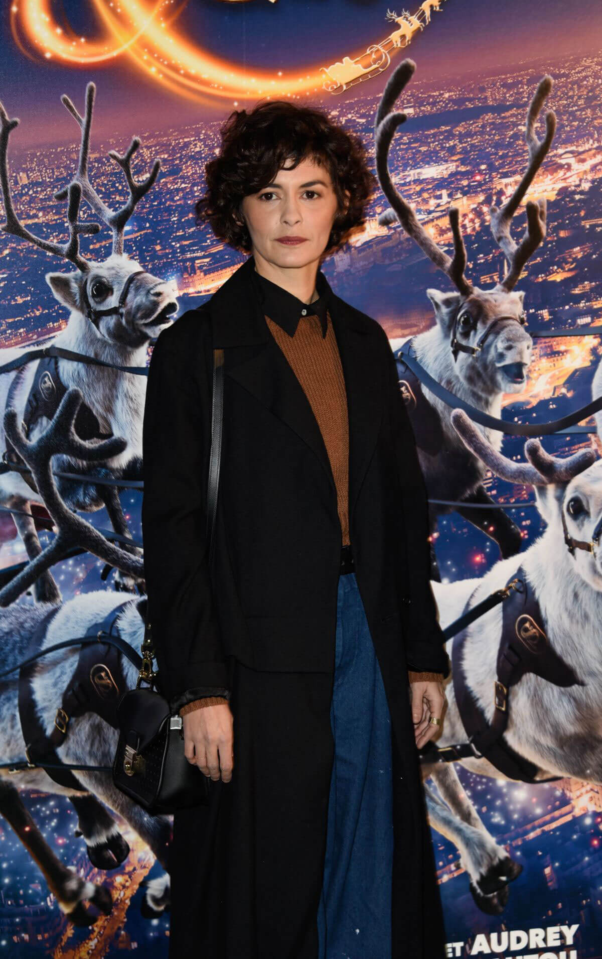 Audrey Tautou Stills at Santa and Cie 2017 Premiere in Paris