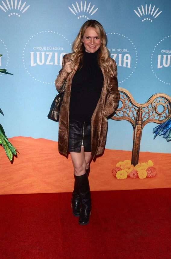 Barbara Alyn Woods Stills at Cirque Du Soleil Presents Luzia at Dodger Stadium in Los Angeles 2017/12/12