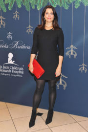 Bellamy Young Stills at Brooks Brothers Holiday Celebration with St Jude Children's Research Hospital