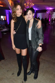 Bex Taylor-Klaus Stills at Dove x BELLAMI Collection launch party in Culver City