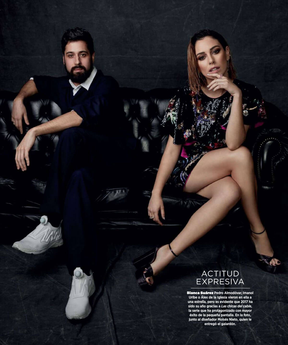Blanca Suarez Stills in Harper's Bazaar Magazine, Spain January 2018