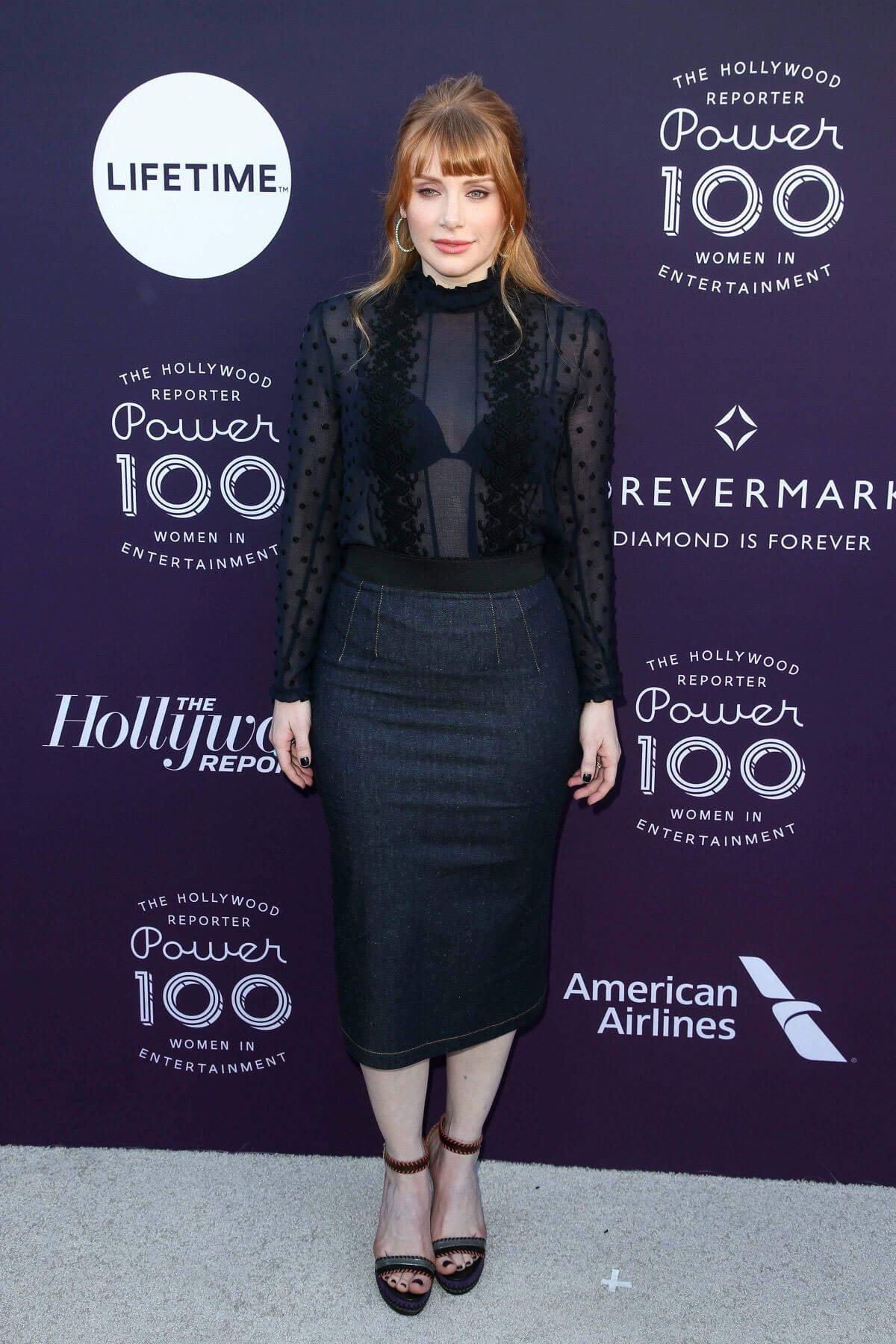 Bryce Dallas Howard Stills at Hollywood Reporter's 2017 Women in Entertainment Breakfast in Los Angeles 2017/12/06