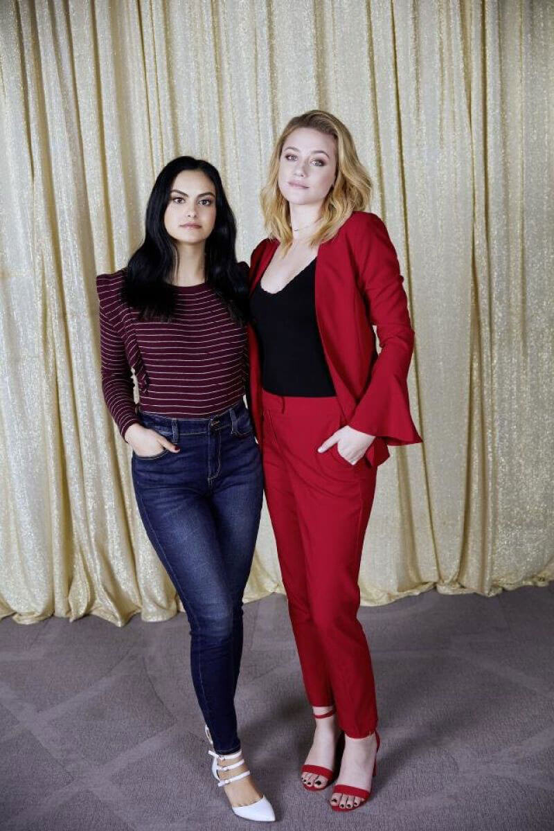 Camila Mendes and Lili Reinhart Stills at JCPenney Prom Campaign 2018