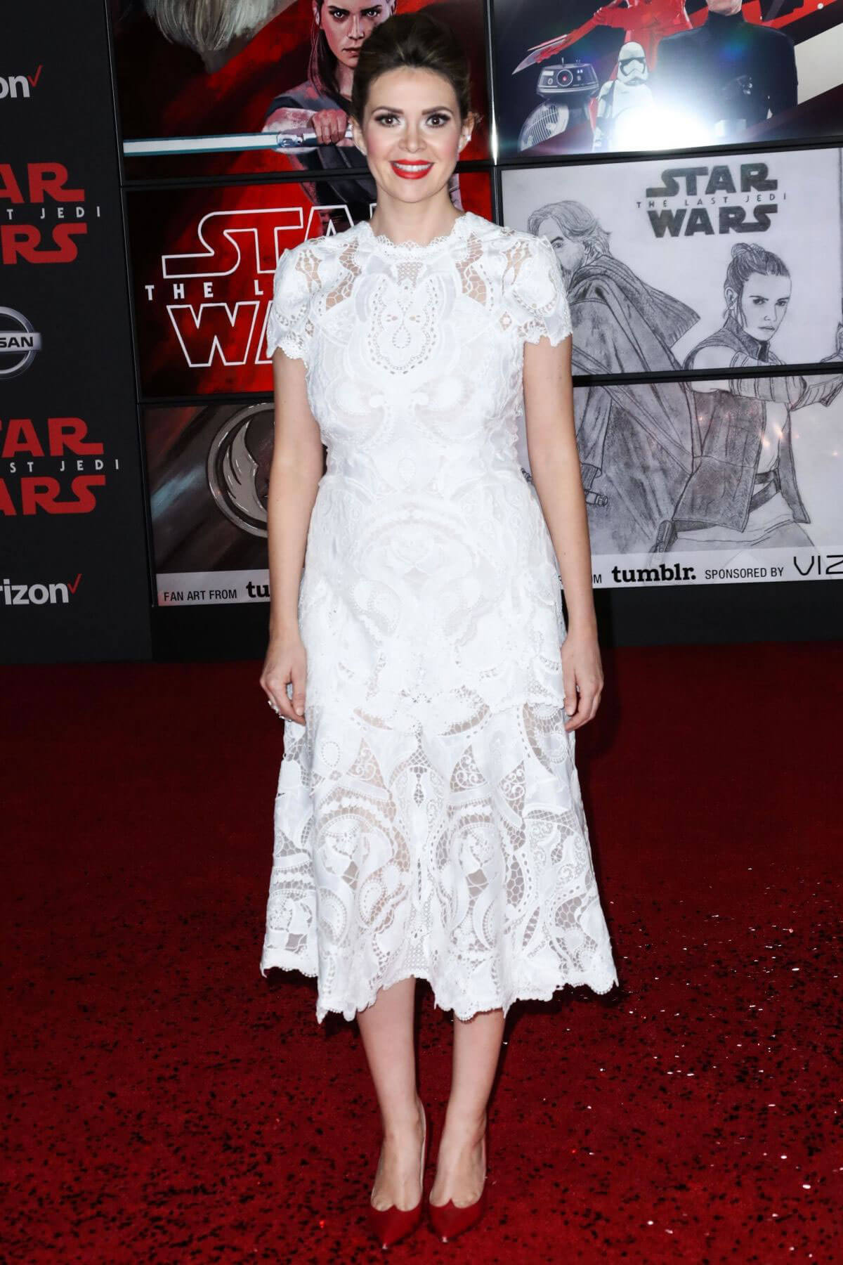 Carly Steel Stills at Star Wars: The Last Jedi Premiere in Los Angeles 2017/12/09