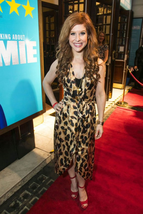 Cassidy Janson Stills at Everybody's Talking About Jamie Press Night in London
