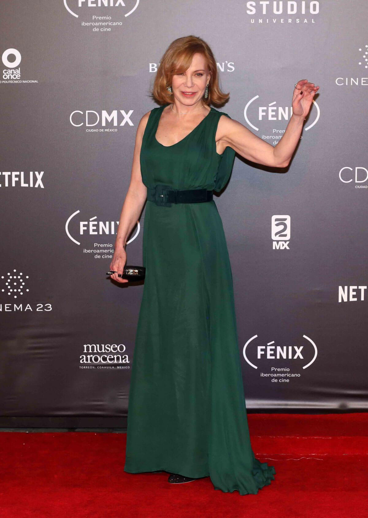 Cecilia Roth Stills at Fenix Film Awards in Mexico City 2017/12/06