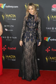 Chanelle Hayes Stills at 2017 AACTA Awards in Sydney 2017/12/06