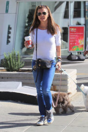 Charisma Carpenter Stills Out for Coffee in Beverly Hills 2017/12/18