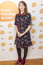 Charlotte Ritchie Stills at Good Morning Britain in London 2017/12/21