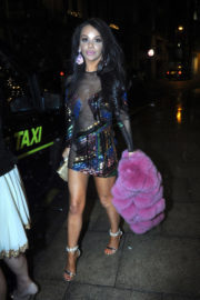 Chelsee Healey Stills Night Out in Manchester 2017/12/22