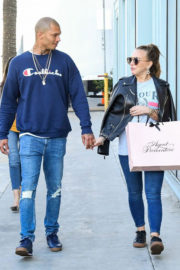 Chloe Green and Jeremy Meeks Stills Out in Los Angeles 2017/12/15