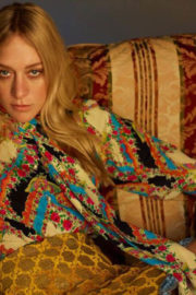 Chloe Sevigny Poses for Harper's Bazaar Magazine, Russia December 2017