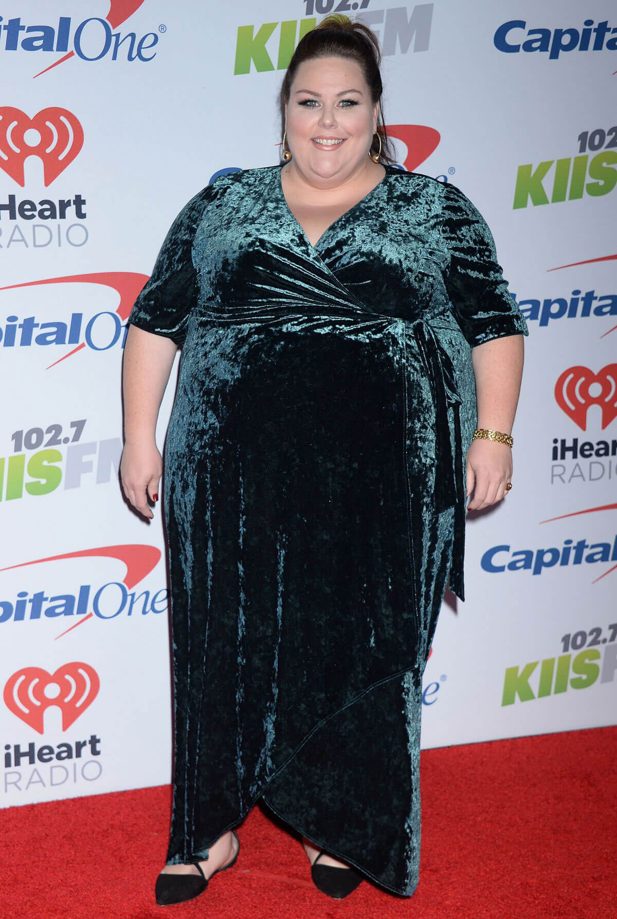 Chrissy Metz Stills at 102.7 KIIS FM's Jingle Ball in Los Angeles 2017/12/01