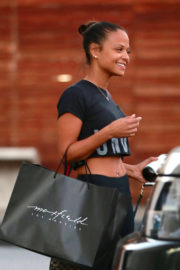 Christina Milian Stills Out Shopping in West Hollywood 2017/12/14