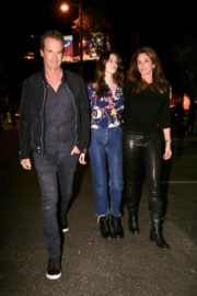 Cindy Crawford, Kaia Gerber and Rande Gerber Stills Out in West Hollywood 2017/12/12