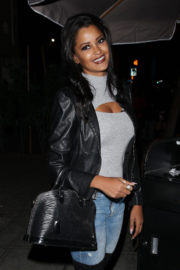 Claudia Jordan Stills Out for Dinner at Delilah in West Hollywood 2017/12/10