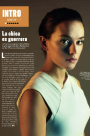 Daisy Ridley Poses for GQ Magazine, Spain December 2017