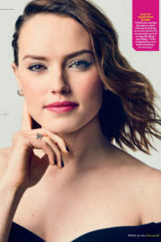 Daisy Ridley Poses for People Magazine, December 2017 Issue
