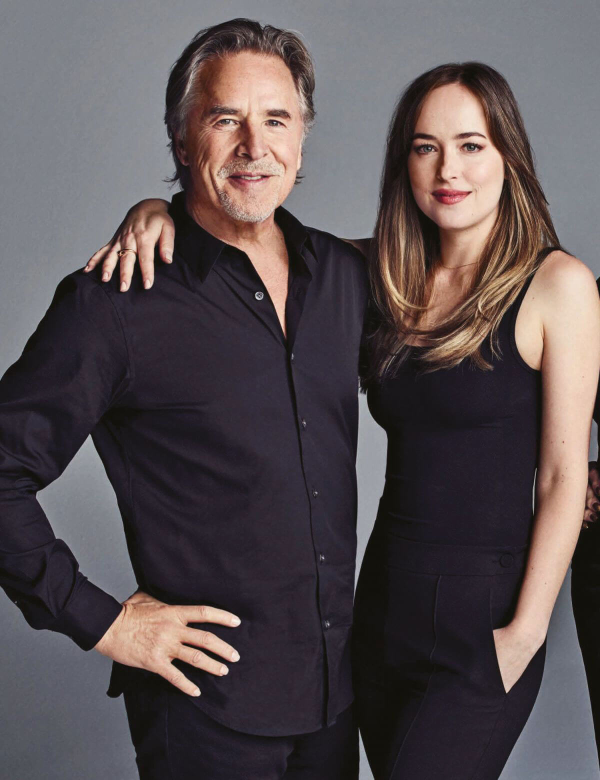 Dakota and Don Johnson Stills for The Hollywood Reporter, December 2017