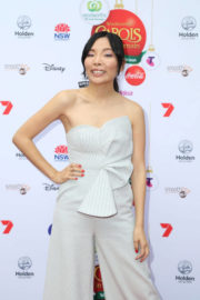 Dami Im Stills at Woolworths Carols in the Domain Pre-show VIP Party in Sydney 2017/12/17