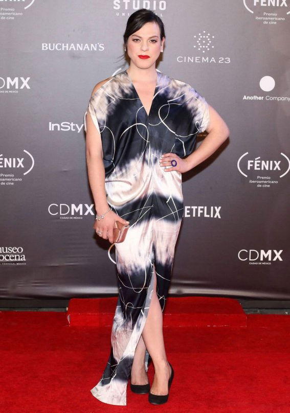 Daniela Vega Stills at Fenix Film Awards in Mexico City 2017/12/06
