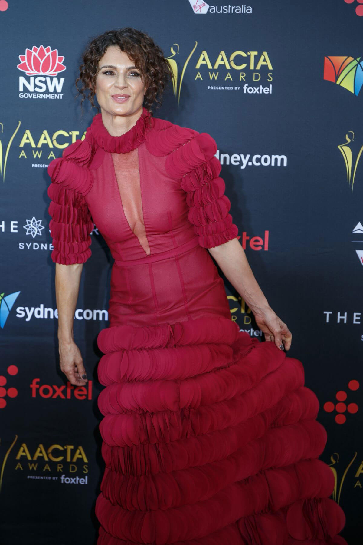 Danielle Cormack Stills at 2017 AACTA Awards in Sydney 2017/12/06