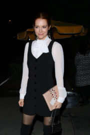 Darby Stanchfield Stills at Brooks Brothers Holiday Celebration with St Jude Children's Research Hospital
