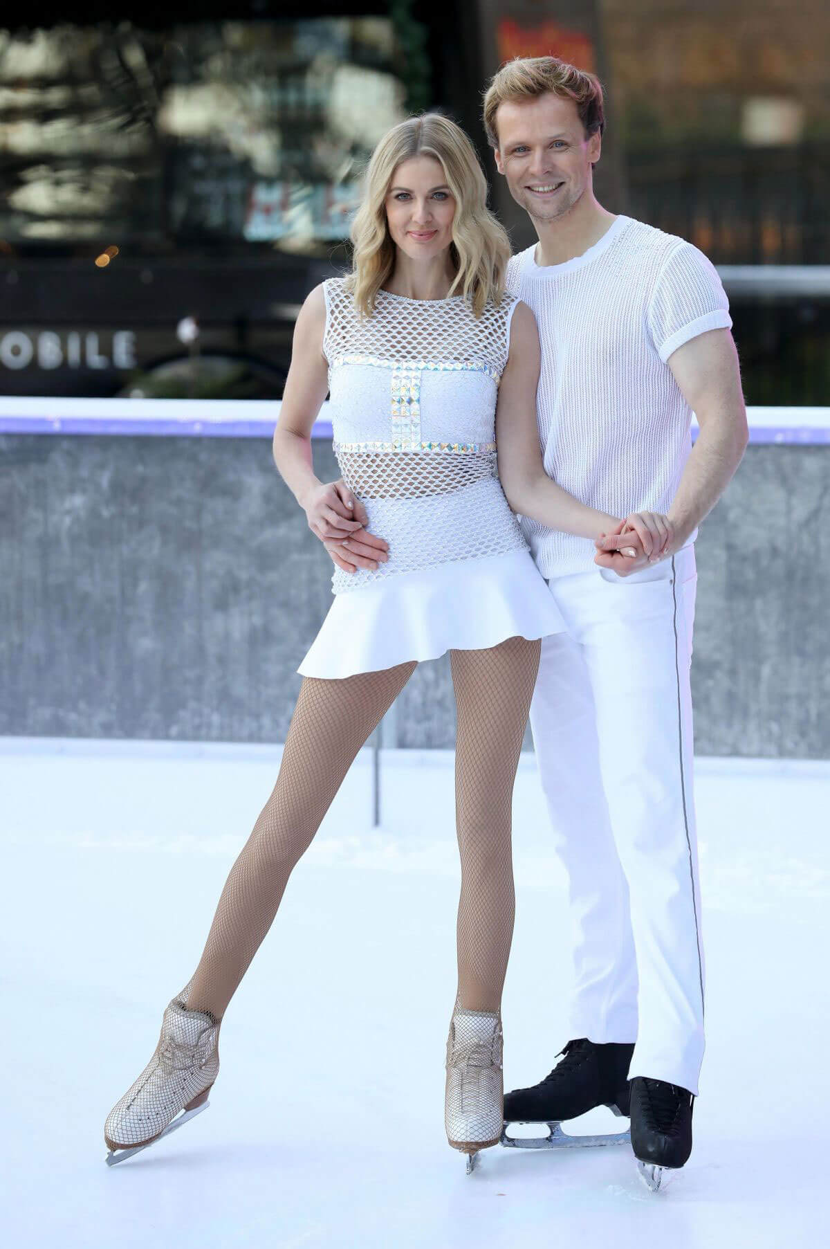 Donna Air Stills at Dancing on Ice Photocall in London 2017/12/19