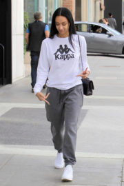 Draya Michele and Orlando Scandrick Stills Out Shopping in Beverly Hills 2017/12/19