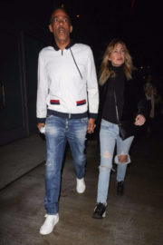 Ellen Pompeo and Chris Ivery Stills Night Out in Los Angeles 2017/12/03
