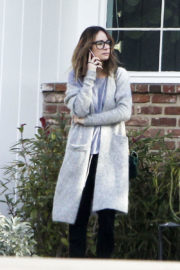 Ellen Pompeo Stills Out and About in Los Angeles 2017/12/22