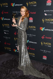 Emma Booth Stills at 2017 AACTA Awards in Sydney 2017/12/06