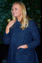 Emma Bunton Stills Switches On the Lights at Royal Exchange Christmas Tree in London