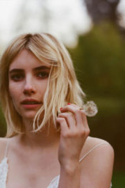 Emma Roberts Poses by Nick Walker Photoshoot, 2017
