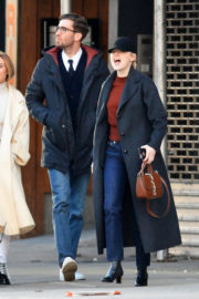 Emma Stone and boyfriend Dave McCary Stills Step Out in New York 2017/12/12