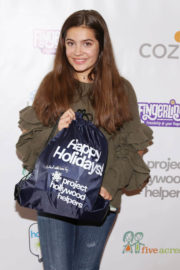 Emmy Perry Stills at Project Hollywood Helpers Event in Los Angeles 2017/12/09
