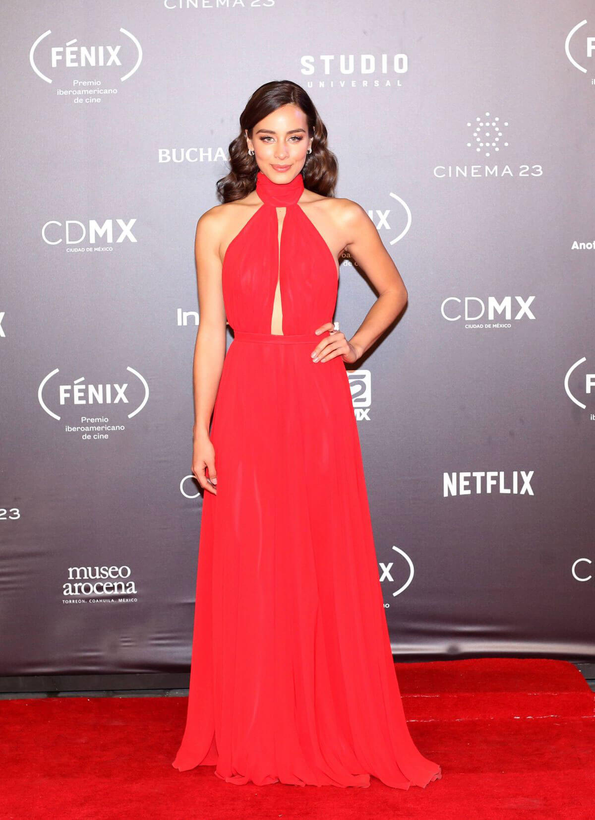 Esmeralda Pimentel Stills at Fenix Film Awards in Mexico City 2017/12/06
