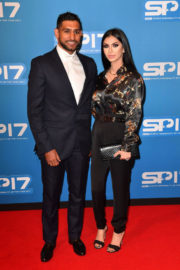 FARYAL MAKHDOOM and Amir Khan at Sports Personality of the Year Awards in Liverpool 2017/12/17