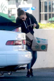Gal Gadot Stills Shopping at Whole Foods in Los Angeles 2017/12/29