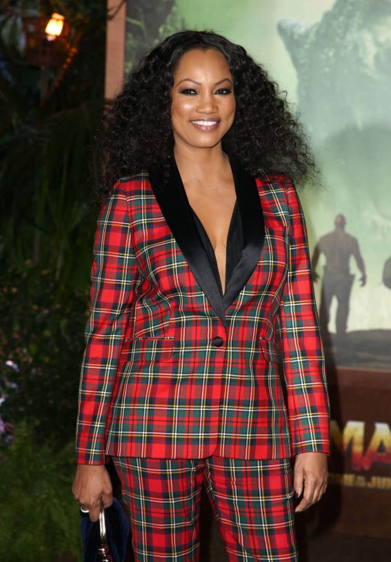 Garcelle Beauvais Stills at Jumanji: Welcome to the Jungle Premiere in Los Angeles 2017/12/11