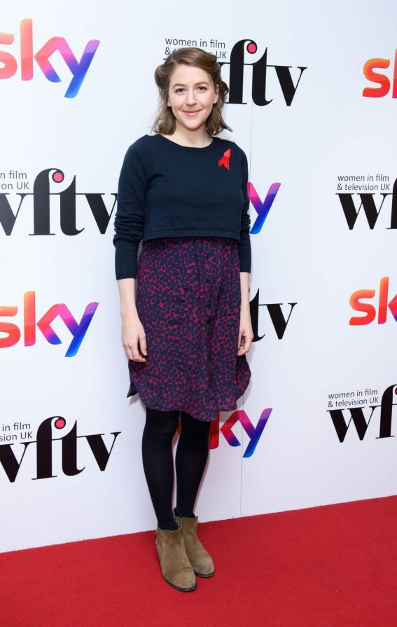 Gemma Whelan Stills at Sky Women in Film and TV Awards 2017 in London