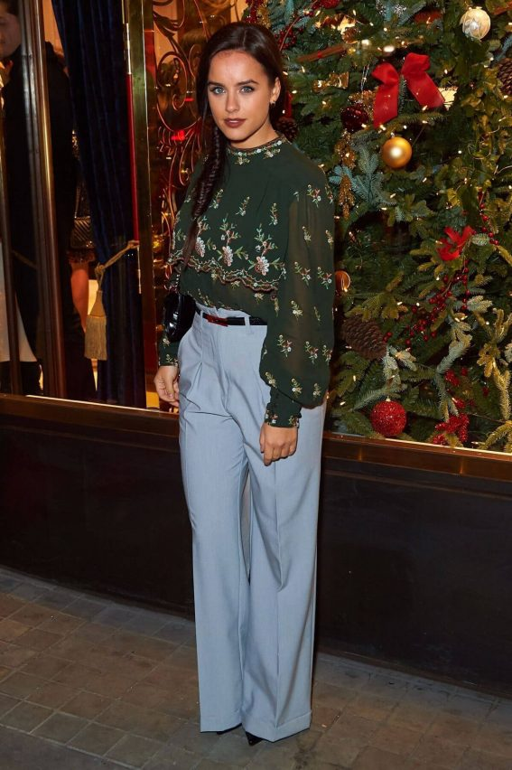 Georgia May Foote Stills at Aspinal of London Store Launch in London 2017/12/05