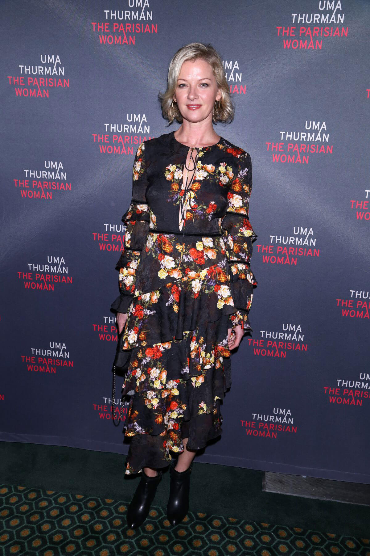 Gretchen Mol Stills at The Parisian Woman Opening Night in New York