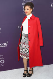 Gugu Mbatha-Raw Stills at Hollywood Reporter's 2017 Women in Entertainment Breakfast in Los Angeles 2017/12/06