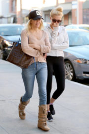 Heather Locklear and Ava Sambora Stills Out for Breakfast in Beverly Hills 2017/12/29