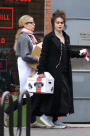 Helena Bonham Carter Stills Out and About in London 2017/12/24