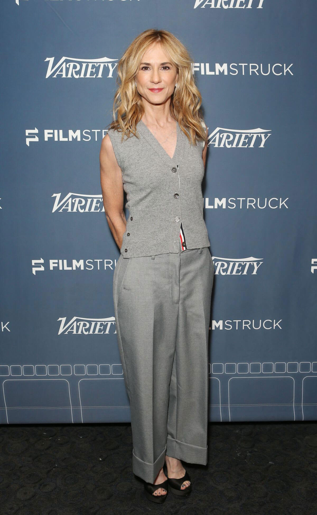 Holly Hunter Stills at The Big Sick Variety Screening Series Presented by Filmstruck in Los Angeles 2017/12/12